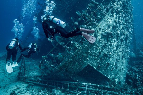 Experience wreck diving with us in the stunning Egyptian Red Sea
