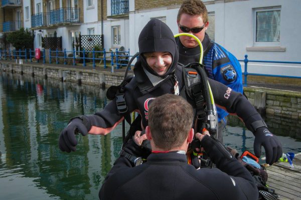 Scuba diving in Sussex with Scuba 2000